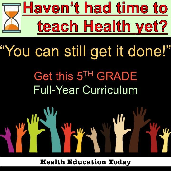 "Having a hard time getting Health taught in your 5th grade classroom?  You've got to see this easy ""Task Card Curriculum!"""