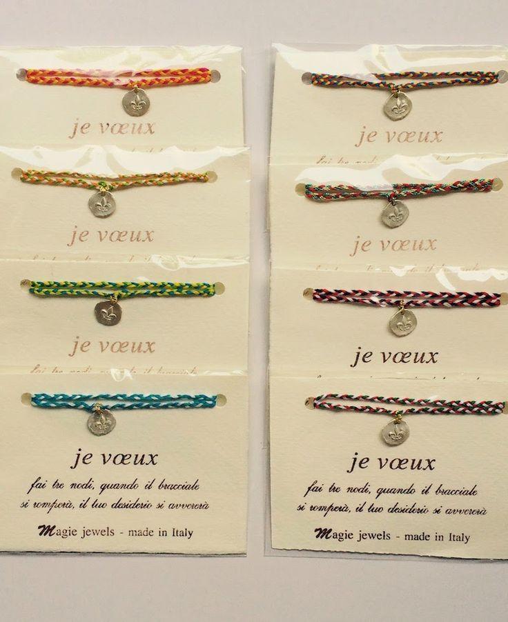 Tuttepazzeperibijoux - Blog about Jewellery, cool hunting and trends : Coup de coeur della settimana Magie Je voeux bracelet