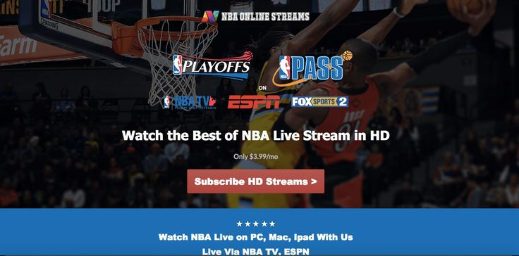 Learn how to legally watch nba online live stream via