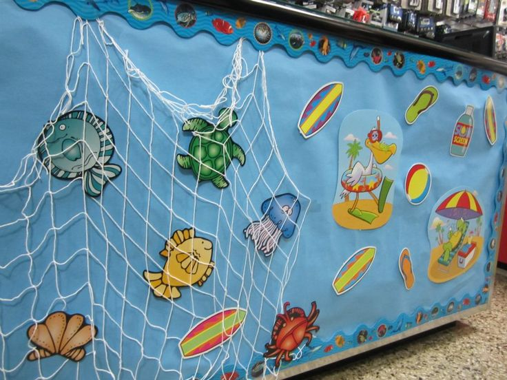 Summer Classroom Decorations Ideas ~ Summer ideas for preschool classroom decorating