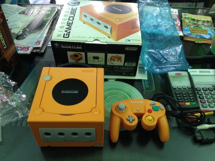 Nintendo Game Cube Orange