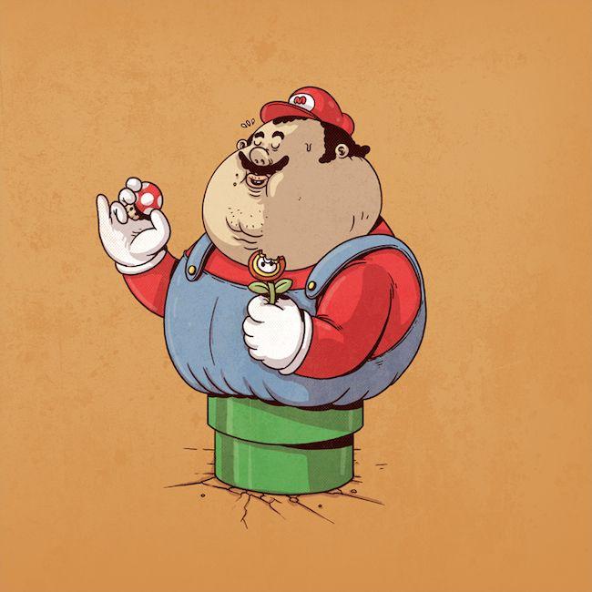 Chunky Mario