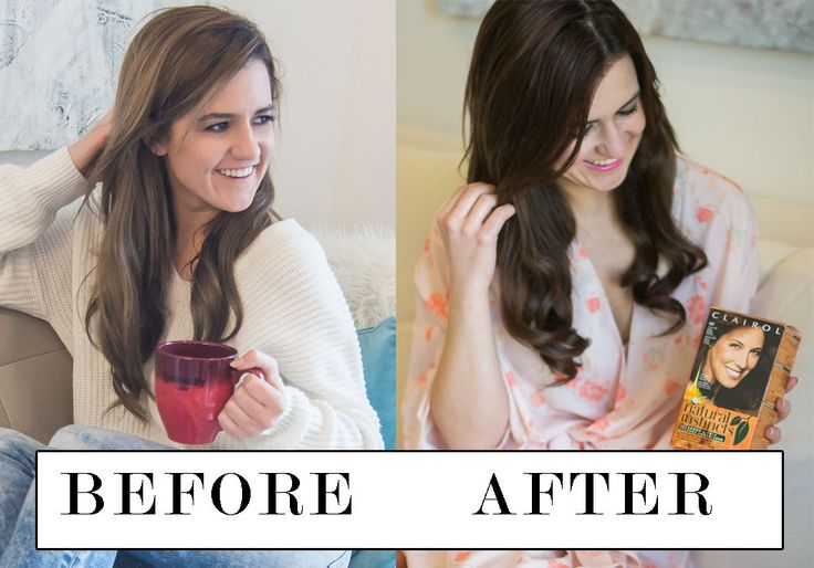 How To Color Your Hair At Home   Before & After With Clairol Natural Instincts   Box Dye Hair Review