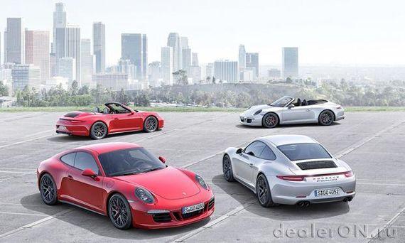 Купе и кабриолет Porsche 911 Carrera GTS / Порше 911 Каррера GTS