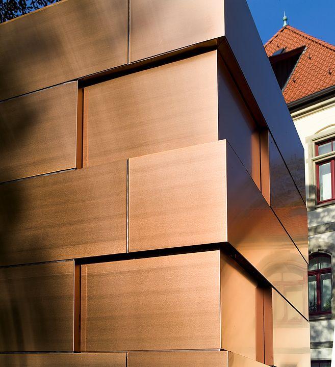 Gallery Of Copper Surface Bond 2 Exterior Wall Cladding Cladding Metal Facade