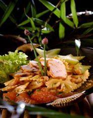 Creoolse Kip-pastasalade