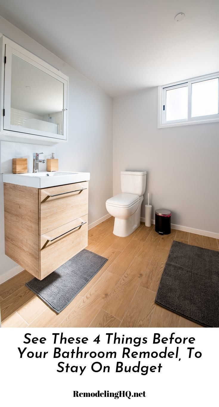 Fix Up A Bathroom Modernize Remodelacion Bathroom In 2019