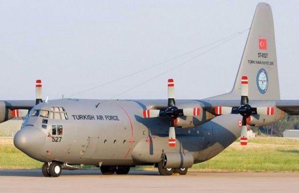 """C130/B - Hava Kuvvetleri'nde """"Herkül"""" lakaplı C-130E/B nakliye uçağından 19 adet görev alıyor."""