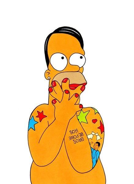 Marc Simpson? Homer Jacobs?? by aleXsandro Palombo