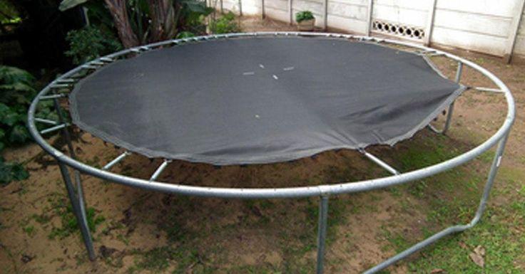 10 pomysłów na ponowne wykorzystanie uszkodzonej trampoliny! Przygotuj się na sporą dawkę genialnych inspiracji! | Popularne.pl