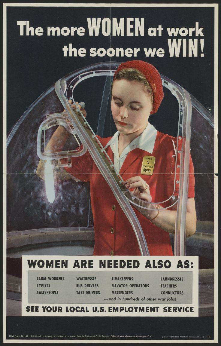 wwii and its influence on women During world war ii, with the male workforce considerably depleted and ' manpower' critical to maintain wartime production, women took on a significant  role.
