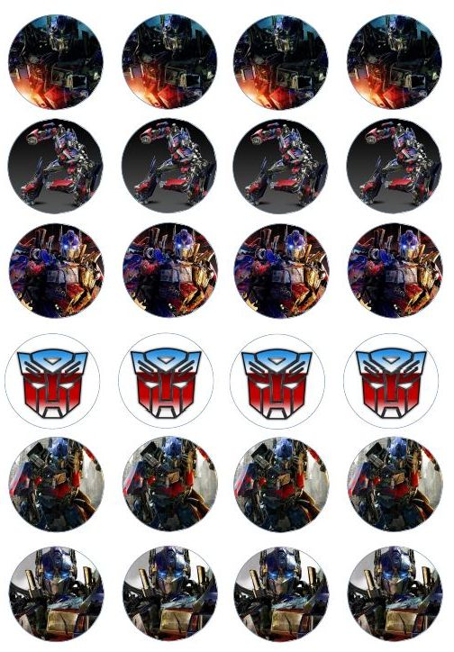 Transformers Cake Decorations Uk : 190 best Transformers Printables images on Pinterest ...