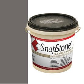 SnapStone Charcoal Grey Urethane Premixed Grout