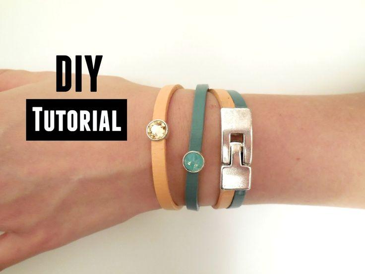 Leren Armbandjes Zelf Maken Video Tutorial