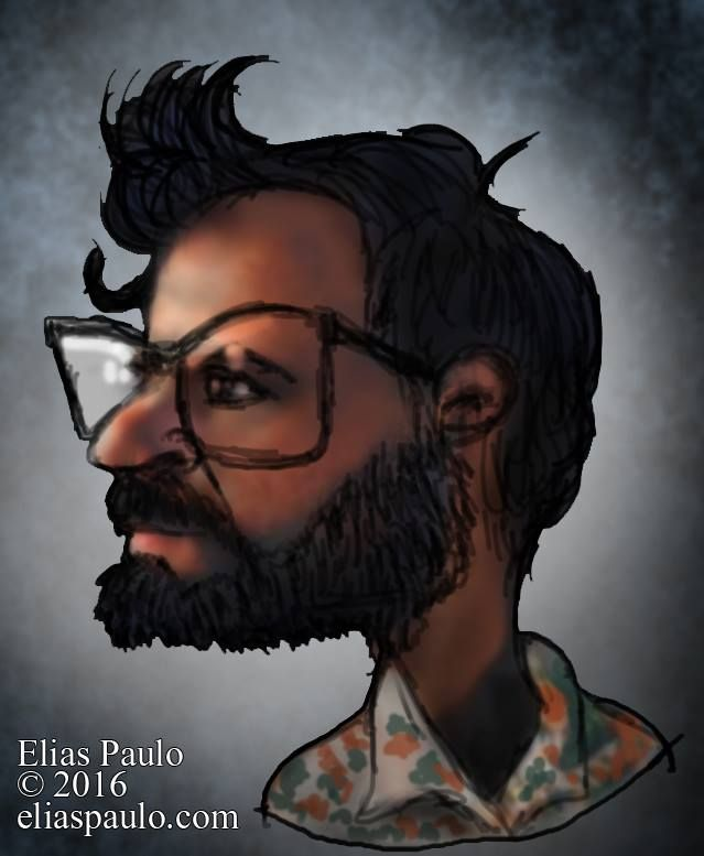 A imagem pode conter: uma ou mais pessoas e barba