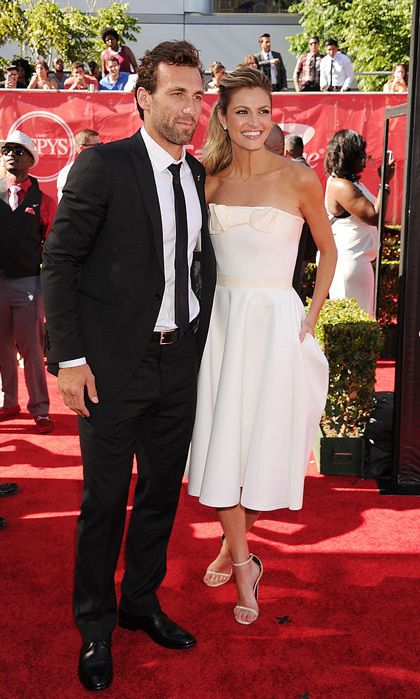 "Erin Andrews and Jarret Stoll  The Dancing With the Stars host has a permanent tango partner after marrying her NHL hottie on June 24 in Big Sky, Montana at the Yellowstone Club.   The NFL on Fox sideline reporter wore a Carolina Herrera off-the-shoulder white gown as she said ""I do"" in front of Jarret, who also was celebrating his 35th birthday, and their family and friends at the exclusive resort.  The couple started dating in 2012 and became engaged in December 2016 during a visit to…"