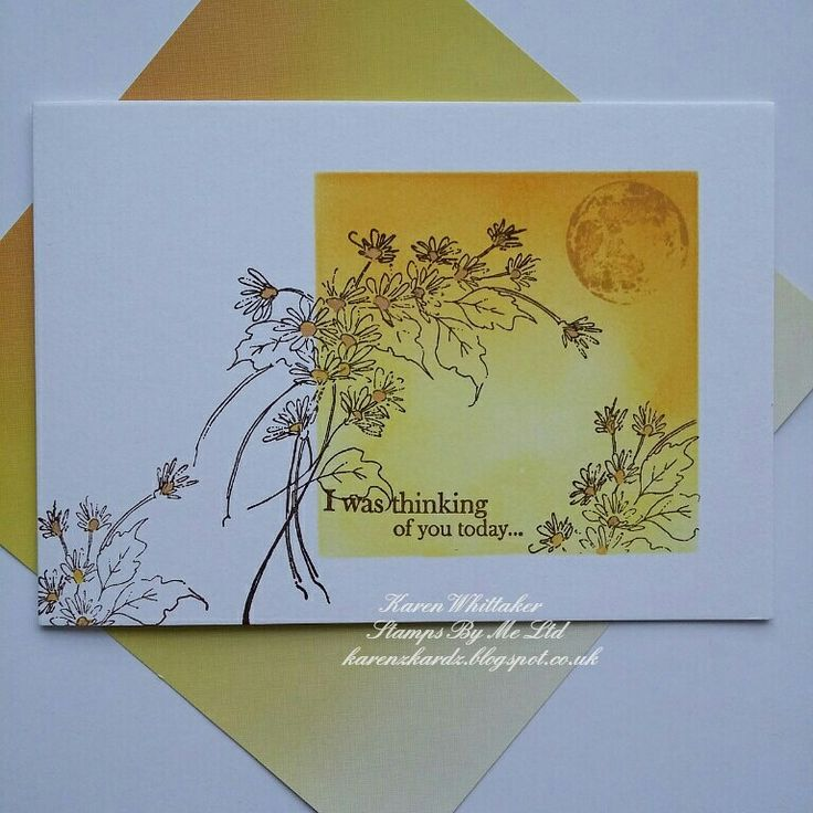 By Stamps By Me. Thinking of You .   #stampsbyme #dtsample #thinkingofyou #flowers #stamps #stamping #distressinks #cards #cardmaking #craft #creative #ilovetocraft #creativity #karenzkardz