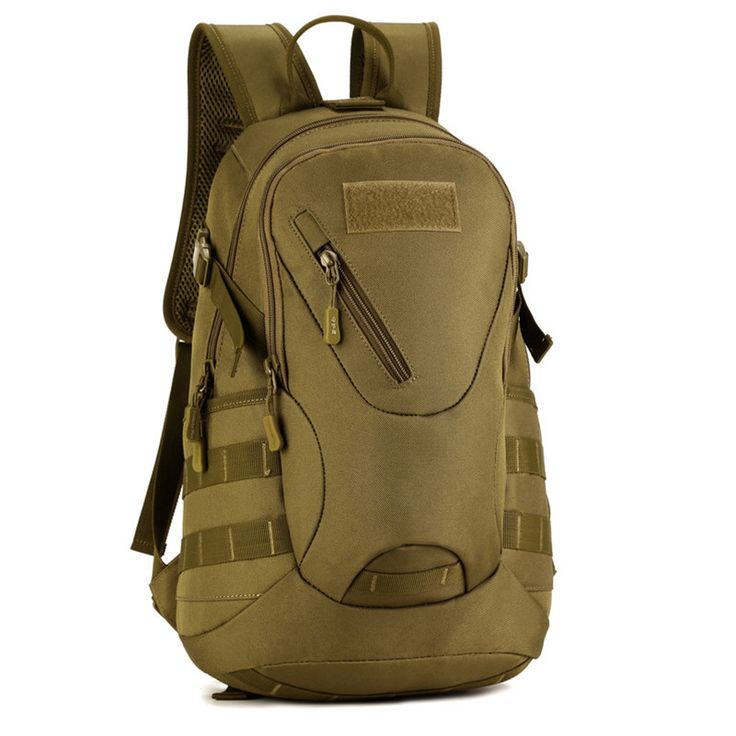 Waterproof 3D Military Tactics Backpack Rucksack Bag 20L for Hike Trek Camouflage Travel Backpack X67 * Find out more by clicking the image