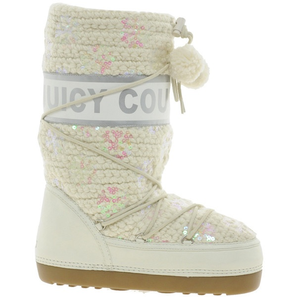 Juicy Couture Libra Snow Boots ($315) ❤ liked on Polyvore