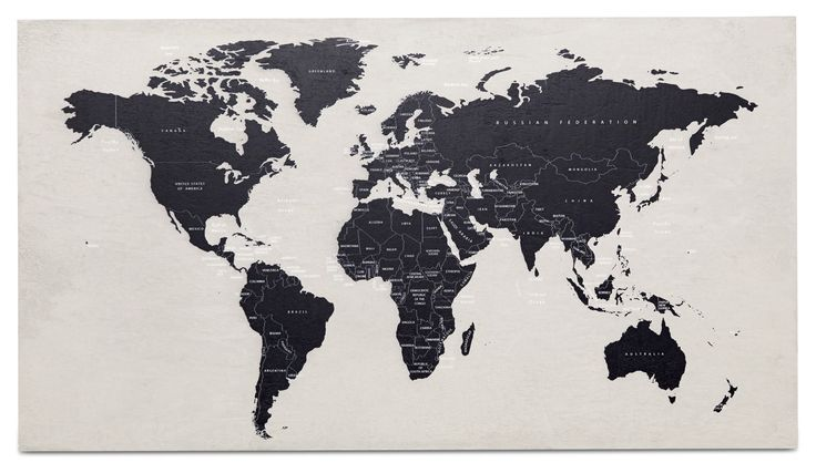 NEW concrete wall art map | home accessories - Design from BoConcept