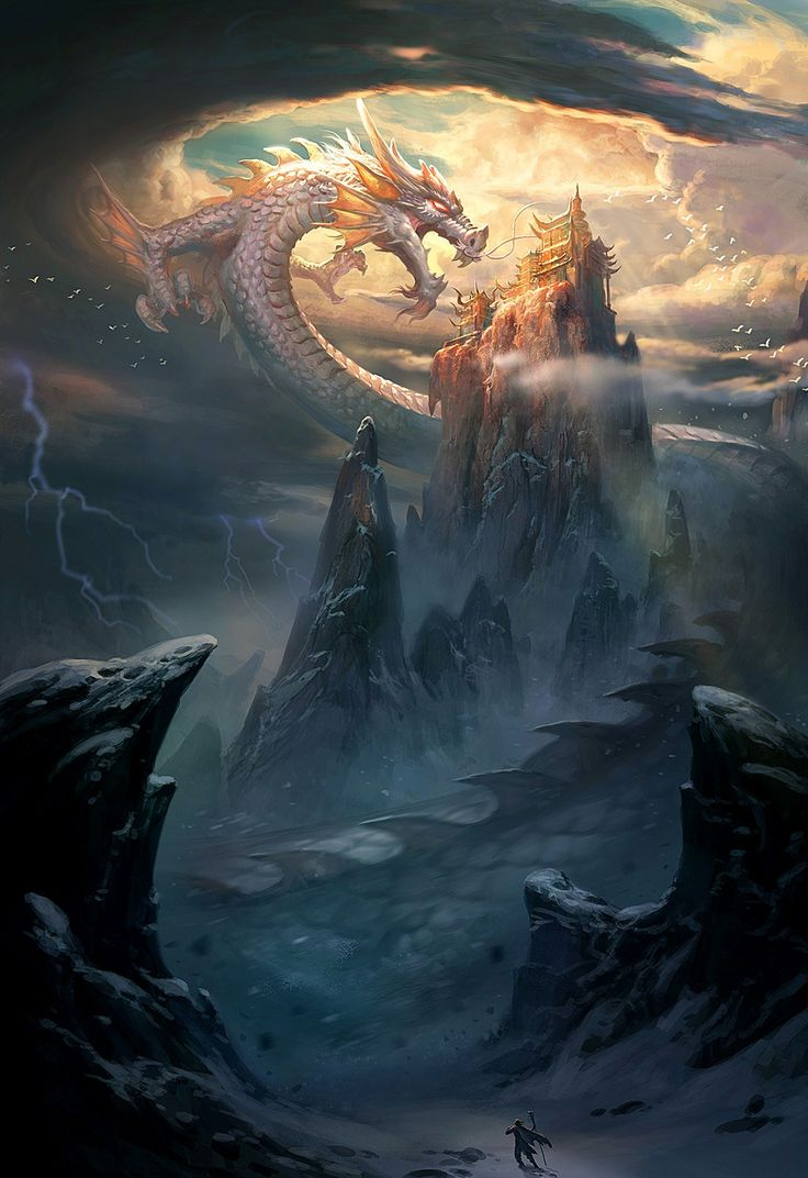 2497 best images about Art - Fantasy - Thar be dragons ...