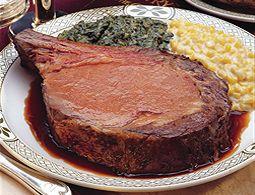 Lawry's Prime Rib recipe: Beef Recipes, Extraordinari Restaurant, Spinach Recipes, Lawri Restaurant Great, Lawri Prime Ribs Recipes, Beef Recipies, Beef Serving, Recipes East0Feden, Roasted Prime