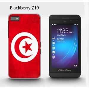 Coque blackberry z10 Tunisie - Coque téléphone drapeau Tunisien