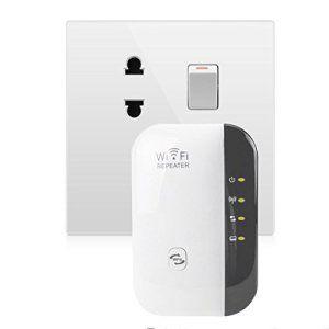 NoyoKere Répéteur/AP/Routeur Wi-Fi N 300Mbps Amplificateur Signal Booster 802.11n / b / g