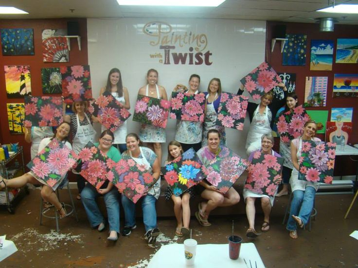 38 best pwat painting with a purpose images on pinterest for Painting with a twist san diego