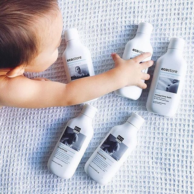 This little monkey is loving our baby range. A sweet #regram from @jarmbui  #ecostore #ecobaby #home