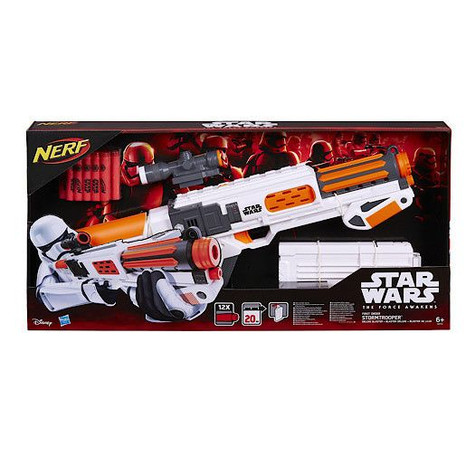 Star Wars The Force Awakens First Order Stormtrooper Deluxe Nerf Blast – Mr Panda's Emporium