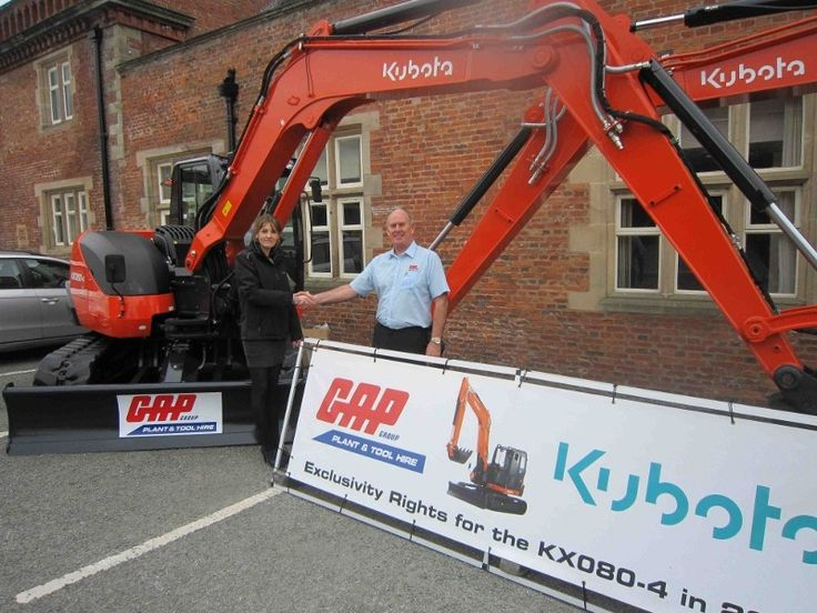 Leading manufacturer of construction machinery, Kubota, has awarded national exclusivity rights to plant hire specialist GAP Group on its recently launched excavator – the KX080-4.