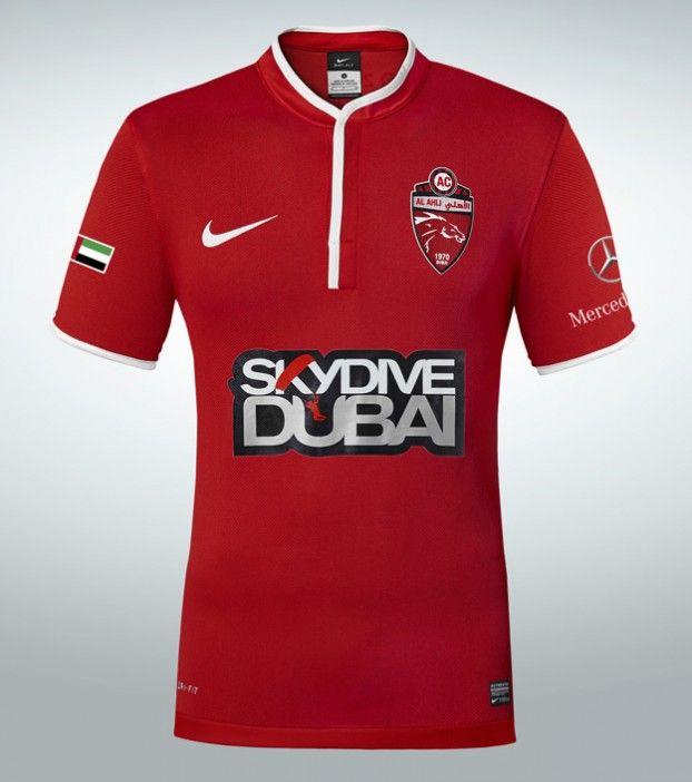 Al Ahli Dubai FC - Nike Home Jersey 2013/14