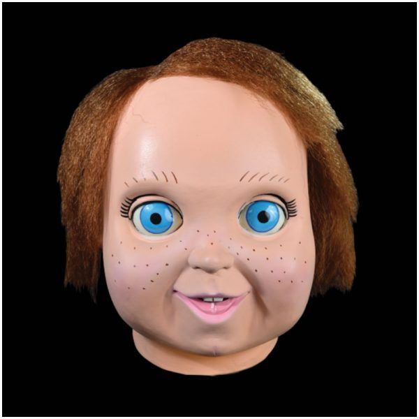 Child's Play 2 Good Guy Mask – PRE-ORDER £49.95  Official licensed Child's Play 2 Chucky Good Guy Doll Mask by Trick or Treat Studios.