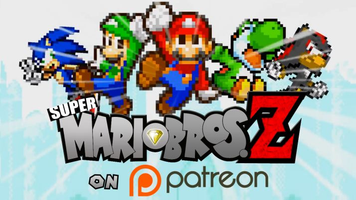 Support Alvin-Earthworm creating Super Mario bros. Z (noncommercial parody fan project)