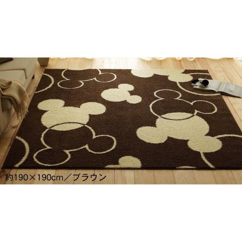 Mickey Disney Carpet Rug - Japan. They have a ton of awesome Disney stuff. I wish I could read Japanese and I wonder if they ship to the US.