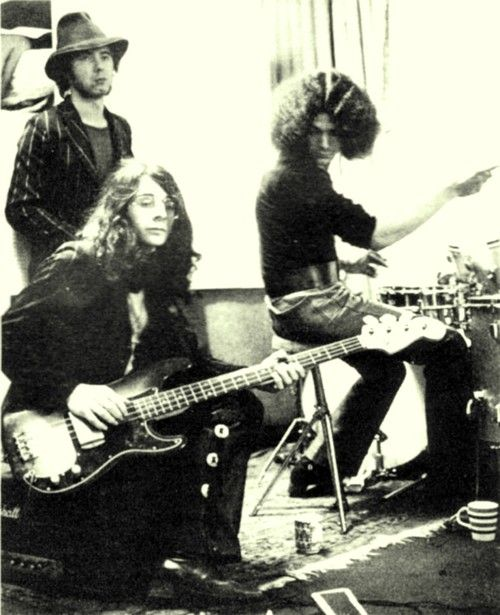 Budgie: Bourge, Shelley, Philips. If you haven't heard them give them a listen.