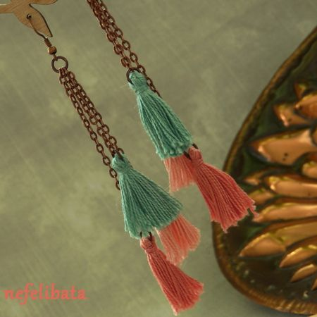 Scent of Sage ° boho ° boho chic ° boheme ° hippies ° gypsy ° ethno ° jewelry ° freedom ° joy ° handmade  ° tassel