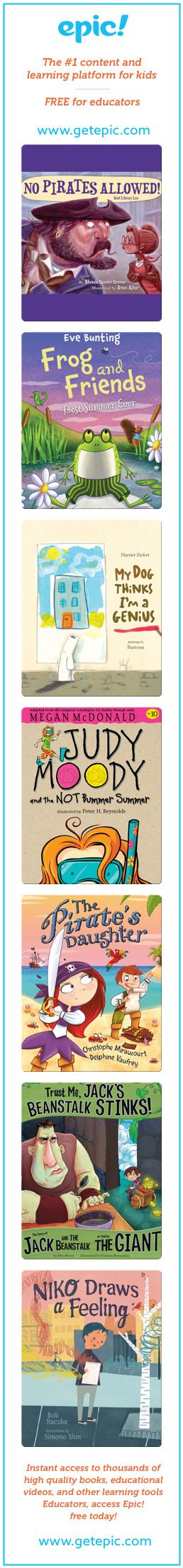 2017 Summer Reading List - Books for Kids 6-8 – Read FREE for 30 days!