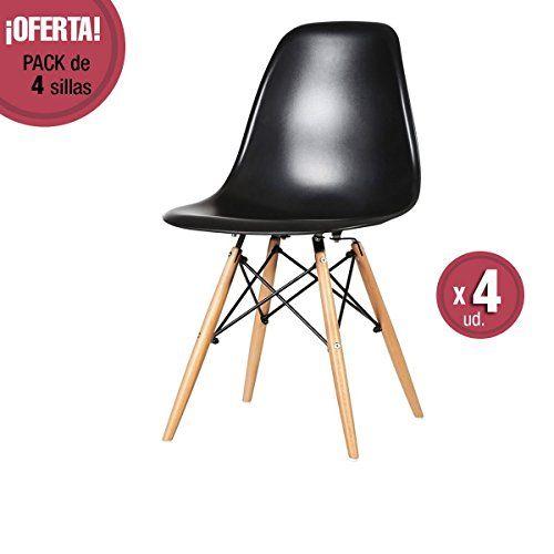 Más de 1000 ideas sobre sillas de comedor negro en pinterest ...