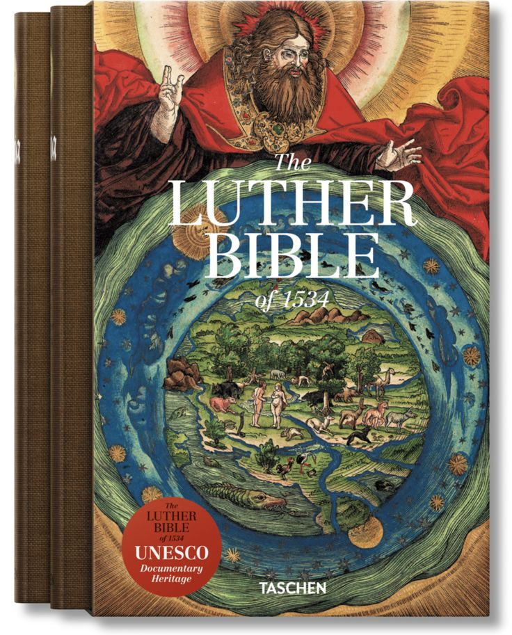 Luther bible facsimile (Taschen)