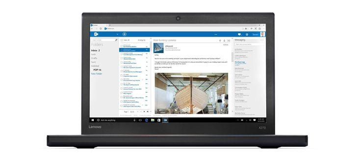 Gama de laptopuri de business de la Lenovo va primi anul viitor un nou membru, modelul ThinkPad X270, care promite autonomie nemaivăzută