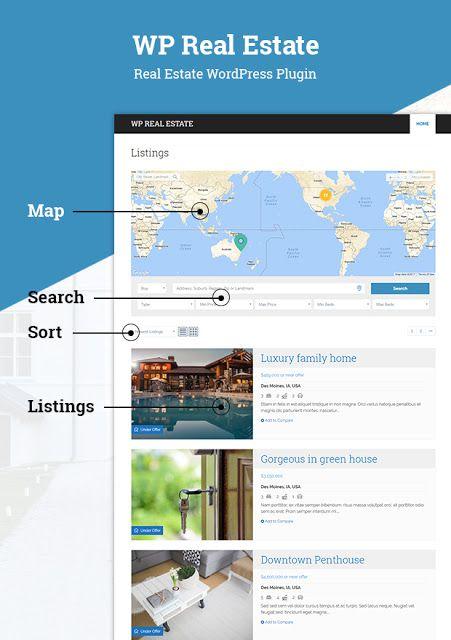 Download Free WP Real Estate WordPress Plugin - mythemeshop