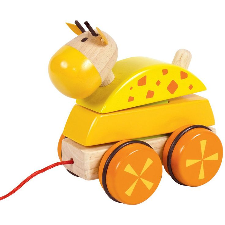 Bigjigs toys, Drewniana Żyrafa Kiwaczek