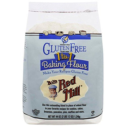 BEST GLUTEN FREE FOUR WE'VE FOUND!! Bobs Red Mill Flour, 1 To 1 Baking, 44 oz Bob's Red Mill