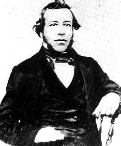 Agustin Olvera, already a judge in his native Mexico, arrived in Los Angeles in 1834 and would continue on a civic path in his adopted country -- he was elected as L.A. County's first Judge and later as Supervisor.