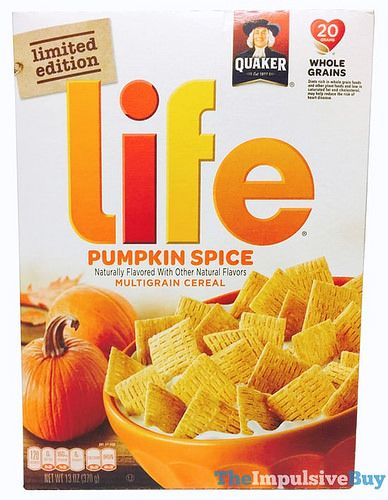 REVIEW: Quaker Limited Edition Pumpkin Spice Life Cereal