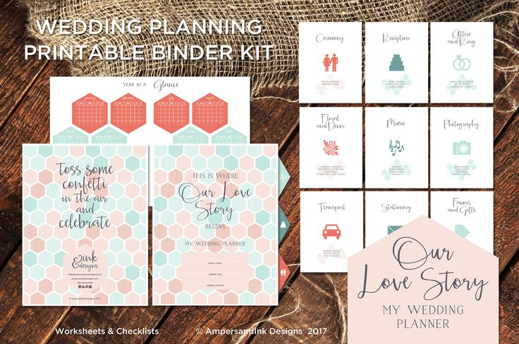 Printable Wedding Planner Binder Planning A Rustic: 25+ Best Ideas About Wedding Planner Binder On Pinterest