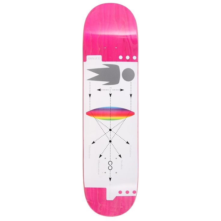 Alien Workshop Infinity Skateboard Deck - 8.25'' | Skateboard Decks | Cheap Skateboard Decks Online | Skate Shop | Skatehut