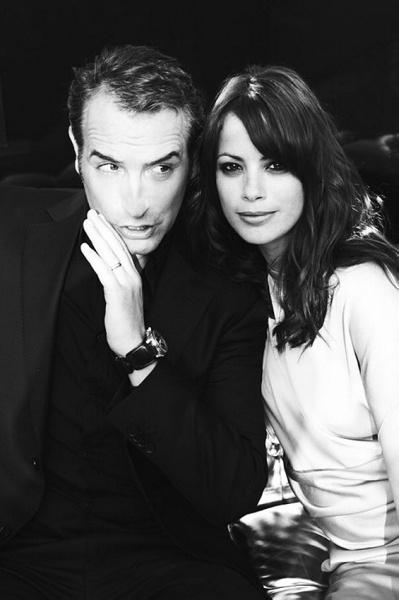 Jean Dujardin & Berenice Bejo.